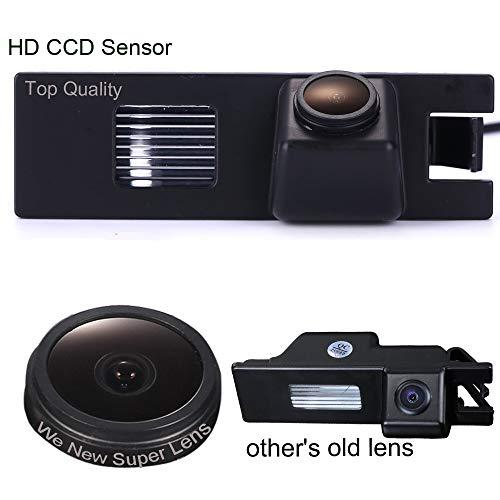 Navinio - Telecamera di retromarcia, impermeabile, visione notturna, per Opel Vectra C Astra H Corsa D Zafira B Tigra Meriva A Insignia