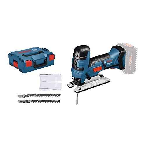 Bosch Professional Akku-Stichsäge GST 18 V-LI S (Ohne Akku, 18 Volt System, Schnitttiefe Holz: 120 mm, in L-Boxx)