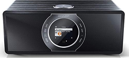 SHARP DR-I470 Pro (BK) Radio/Radio-réveil Blanc