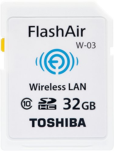 TOSHIBA 無線LAN搭載 FlashAir SDHCカード 32GB Class10 日本製 (国内正規品) SD-WE032G