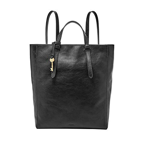 41 0+o+5hDL Genuine leather with synthetic leather trim; zipper closure; imported Exterior Details: 1 zipper pocket; brass hardware Interior Details: 1 zipper pocket, 2 slide pockets; polyester lining