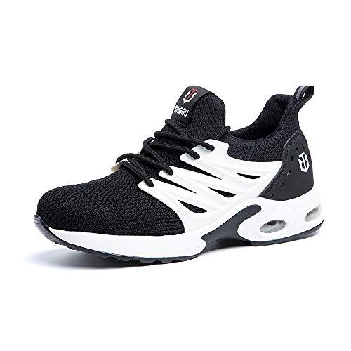Zapatos de Seguridad para Hombre Zapatillas Deportivas de...