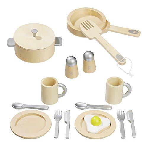 Howa - Set da Cucina Giocattolo in Legno 4868
