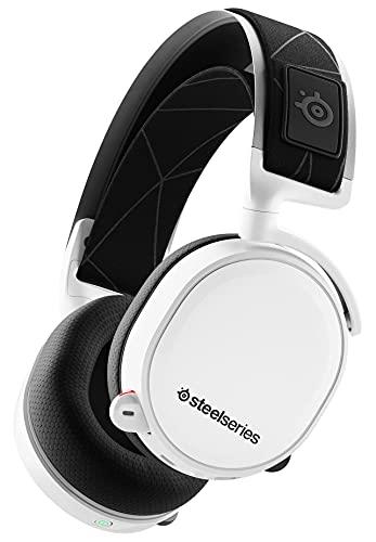 SteelSeries ゲーミングヘッドセット ワイヤレス 無線 密閉型 ロスレス 低遅延 7.1chサラウンド Arctis 7 6...
