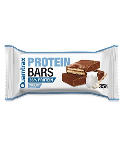 Quamtrax Caja Protein Bars sabor Yogurt - 32 unidades