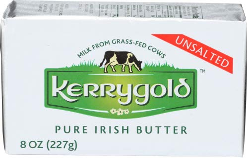 Kerrygold Pure Irish Grass-fed Butter, 8 Oz (8 Pack)