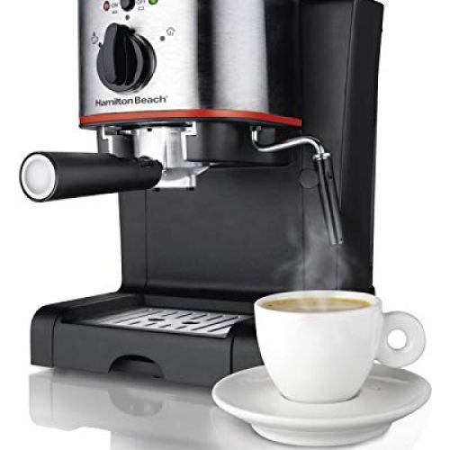 Hamilton Beach Espresso Machine 15 Bar Italian Pump
