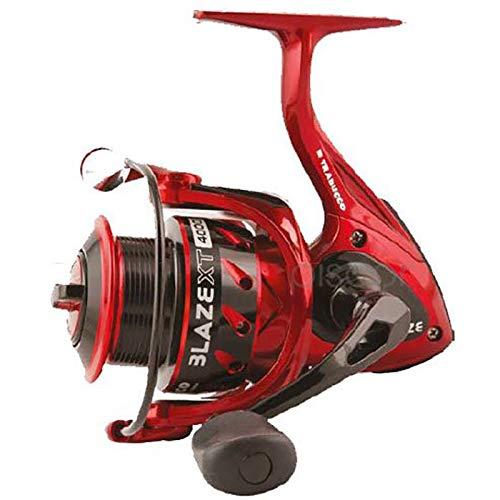 Trabucco Mulinello da Pesca Blaze XT 2000 con Frizione Anteriore Precisa e Potente da Spinning Bolognese Feeder Fondo Mare Trota Lago Leggero e Affidabile