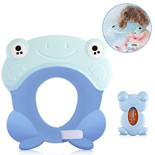 Lictin Baby Shampoo Cap Augenschutz für Kinder Badeschutz weicher Kappen Hut Haare waschen ohne Tränen verstellbar Baby Duschkappe