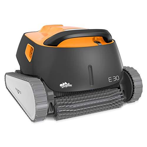 Dolphin E30 Automatischer Schwimmbecken-Reinigungsroboter. Handlicher, leichter und einfach zu reinigender Sauger. Ideal für in den Boden eingelassene und auf der Erde aufgestellte Schwimmbecken