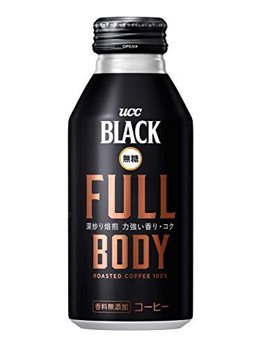 UCC ブラック無糖 FULL BODY 缶コーヒー 375ml×24本