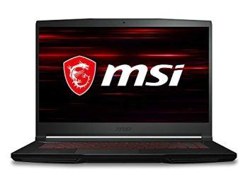 MSI GF63 Thin 9RCX -615 15.6' Gaming Laptop, Intel Core i5-9300H, NVIDIA GTX 1050Ti, 8GB, 512GB NVMe SSD, Win10