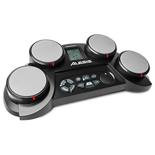Alesis CompactKit 4 - Batteria Elettronica Portatile da Tavolo con 4 Pad Sensibili Alla Velocity, 70 Suoni di Percussioni, Accessori