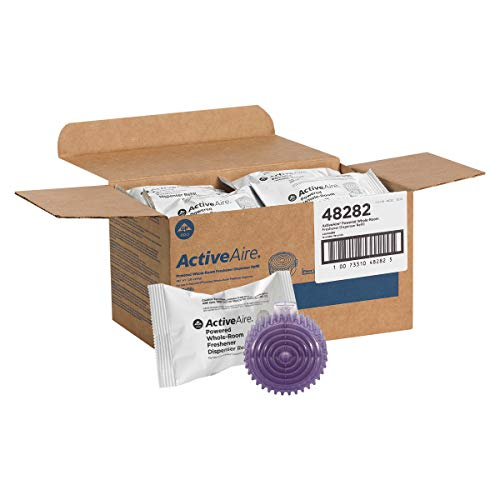 ActiveAire Powered Whole-Room Freshener Dispenser Refill by GP PRO (Georgia-Pacific), Lavender, 48282, 12 Cartridges Per Case
