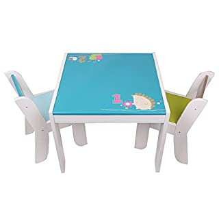Labebe Wooden Activity Table Chair Set Blue Hedgehog Toddler Table For 1 5 Years Baby Table Toy Table Baby Room Table Learning Table Cover Kid Bedroom Furniture Child Furniture Set Kid Desk Chair B00oaznyea Amazon Price Tracker