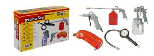 Mecafer 150096 Kit 5 accessoires (Boite carton quadrichromie) + Kit connexion universel