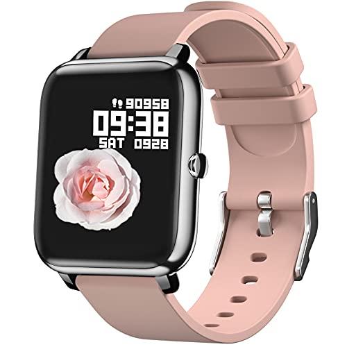 Reloj Inteligente Hombre Mujer , IDEALROYAL Smartwatch Mujer con...