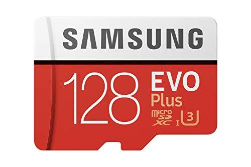 Samsung EVO Plus 128GB microSDXC UHS-I U3 100MB/s Full HD & 4K UHD...