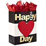 Hallmark 15' Extra Large Valentine's Day Gift Bag with Tissue Paper...