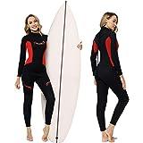 3mm Wetsuit Women,Ravani Womens Wetsuit for Women Freediving Wetsuit Full Wetsuit Neoprene Wetsuit surf Dive Wetsuit Long Sleeve Wetsuit for Surfing Diving Swimming Kayaking,Women's Wetsuit (10)