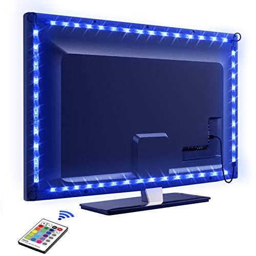 LED TV Retroilluminazione, OMERIL 2.2M Retroilluminazione TV LED USB alimentata con Telecomando e 16...