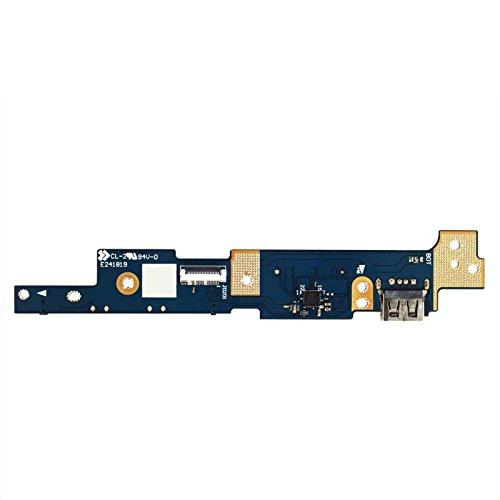 GinTai Power Switch Button IO USB SD Card Board Replacement for ASUS Q302 Q302L Q302LA Q302U Q302UA TP300 TP300L TP300LA TP300LD TP300LJ Q302LA-BHI3T09 Q302LA-BBI5T14