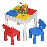 ZhanXiang Set di sedie da Tavolo per Bambini (2021new-A)