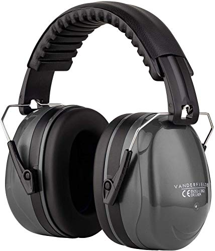 Ear Defenders Adult - Foldable Hearing Protection Ear Muffs...