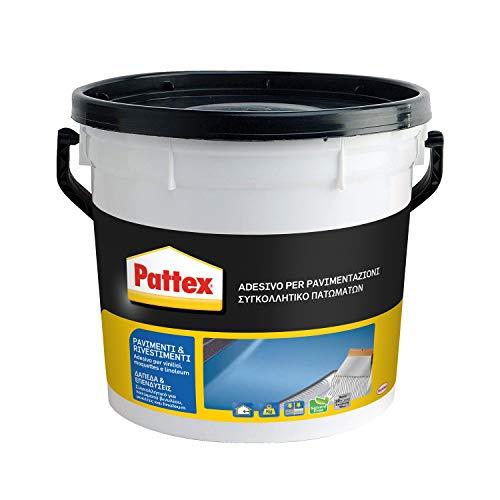 Pattex Pavimenti e Rivestimenti Colla per rivestimenti a presa rapida, Colla per tessuti, moquette,...