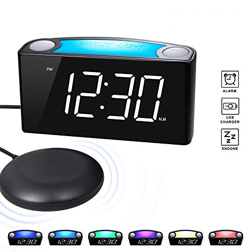 41 cf jPpbL - Best Alarm Clock for Deaf In 2020