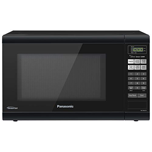 Panasonic NN-SN651B Countertop with Inverter Technology and Genius Sensor Microwave Oven, 1.2 cft, Black