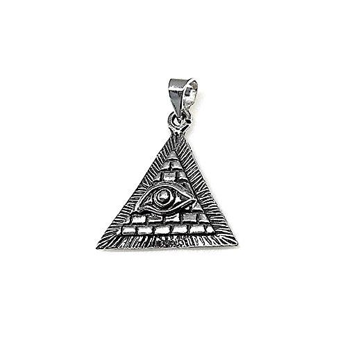 Colgante en plata de ley 925m con el Ojo de Horus