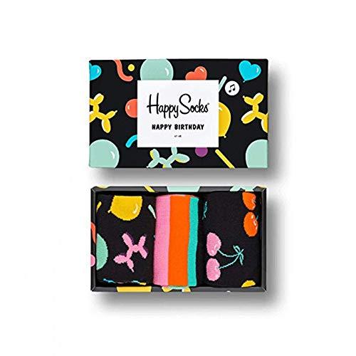 Happy Socks Classic Mix Gift Box, Calzini Donna, Multicolore (Multicolour 600), 36/40 IT