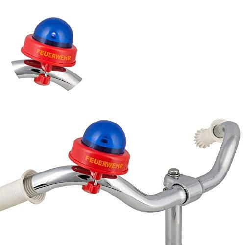 Smart Planet Fahrradsirene - Feuerwehr Fahrradklingel - Bike Sirene - lustige Feuerwehrsirene für...
