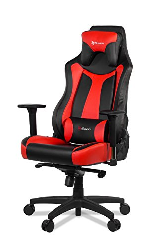 Arozzi Vernazza Series Super Gaming Racing Style Swivel Chair, Red