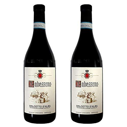 Rabezzana - Dolcetto d'Alba DOC - 2 Bottiglie da 75 cl - Vino Rosso Rubino Caratteristico e Profumato - Vitigno Autoctono Piemontese (2)