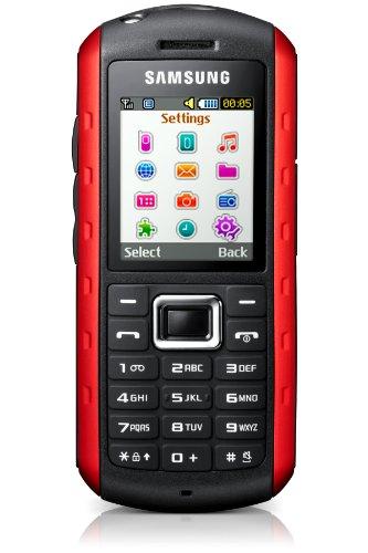 Samsung GT-B2100 Outdoor Handy (1,3 MP-Kamera, MP3, IP57-Zertifizierung, wasserdicht) scarlet-red