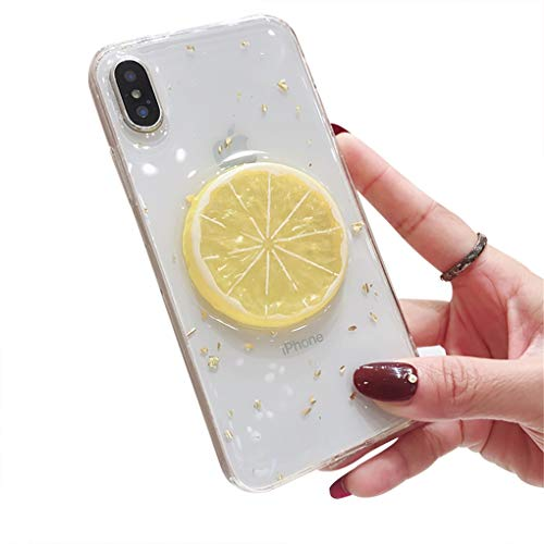 LPZOOOM Cover Cristallo Trasparente iPhone 7 Plus, Custodia per iPhone 8 Plus Ultra Slim Moda 3D...