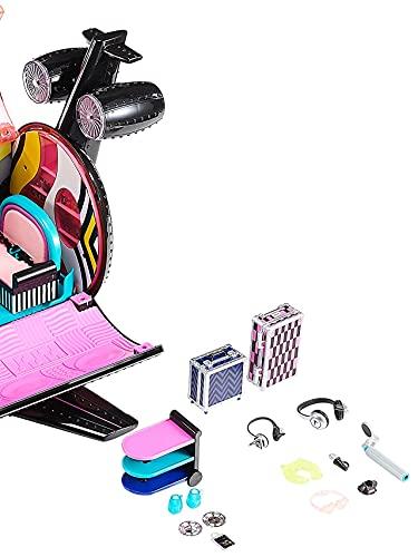 Image 2 - LOL Surprise OMG Avion Remix 4-en-1 - Avec 50 surprises - Se transforme en Avion, Voiture, Studio d'enregistrement et Salle de mixage