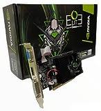 OUTLET COMPUTER GeForce GT 730 4 GB DDR3, Scheda Video Low Profile per HTPC Compatti e Build Low Profile con Ventola, Incluso Bracket Aggiuntivo I/O
