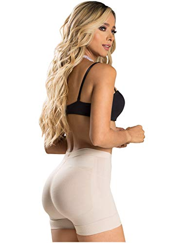 Laty Rose 21996 Panty Control Levanta Cola Butt Lifter Shorts Thigh Shapers Beige Medium
