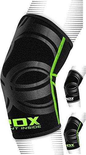 RDX Boxe Supporto Gomito Tutore MMA Elastica Gomitiere Pallavolo Avambraccio Protezione Fascia Epicondilite (Il Pacchetto Contiene Pezzo Unico)