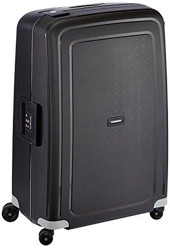Samsonite S\'Cure - Spinner L Koffer, 75 cm, 102 L, Schwarz (Black)