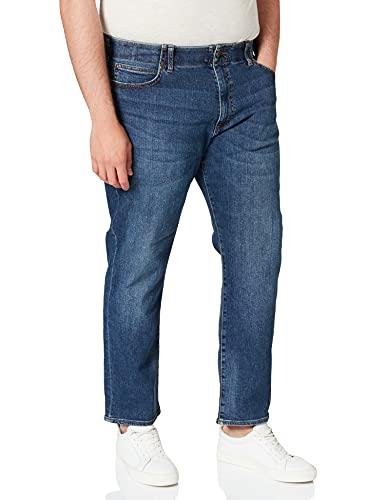 Lee Extreme Motion Straight Jeans, Blu (Maddox Pu), 36W / 30L Uomo