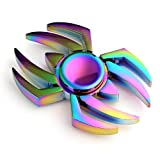 MAYBO SPORTS Wiitin Cool Fidget Spinner Toy , The Amazing Spider Shaped Metal Fidget Spinner, Mixed Color