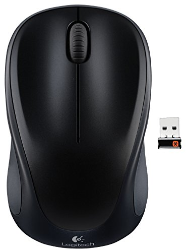 Wireless Mouse M317 with Unifying Receiver  Black