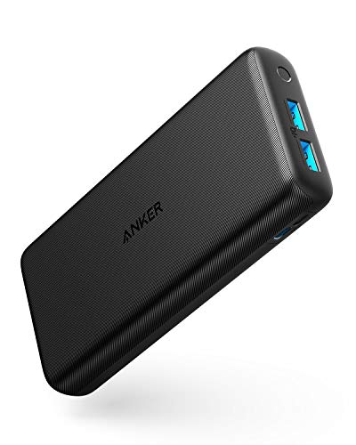Anker PowerCore Lite 20000mAh Portable Charger, Ultra-High Capacity 4.8A Output Power Bank, External Battery Compatible with iPhone, Samsung Galaxy and More