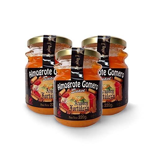 Almogrote Suave Gourmet - 3 unidades de 220g