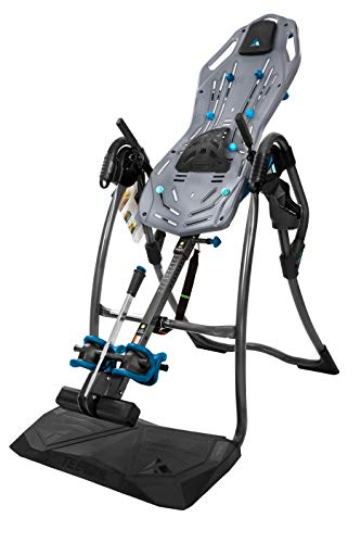 Teeter FitSpine LX9 Inversion Table, 2019 Model, Deluxe Easy-to-Reach Ankle Lock, Back Pain Relief Kit, FDA-Registered (LX9)