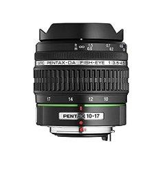 Pentax 10-17 mm f/3.5-4.5 DA ED - Objetivo para Pentax (distancia focal 10-17mm, apertura f/3.5-32) negro